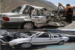مراجعه بیش از ۱۵ هزار نفر به دلیل صدمات ناشی از تصادفات