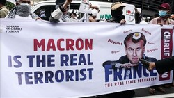 معترضان در اندونزی خواستار تحریم کالاهای فرانسوی شدند