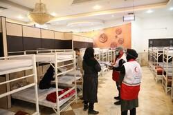 ماسک های اهدایی کره جنوبی به بیخانمانهای شهر تهران رسید