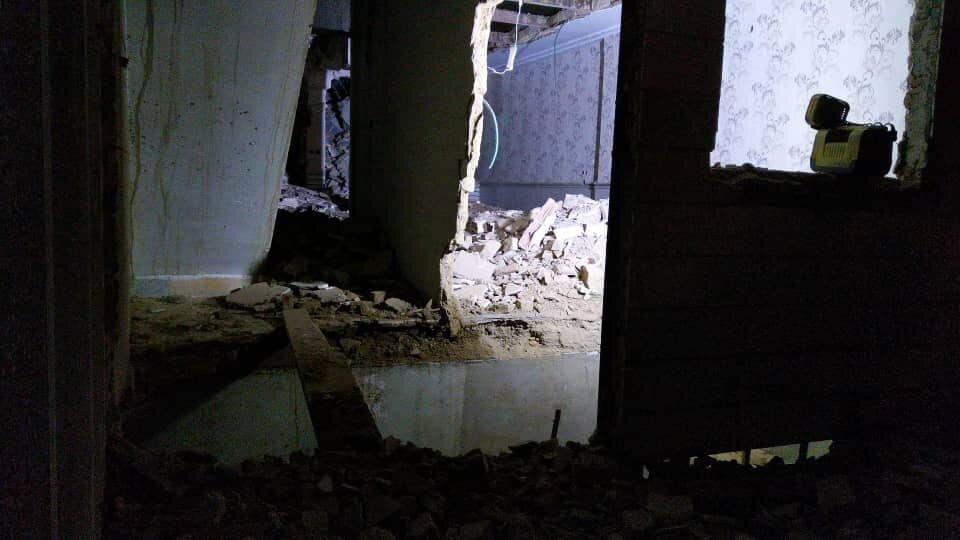 انفجار گاز در پاکدشت/تاکنون ۲فوتی و ۴ مصدوم از زیر آوار خارج شدند