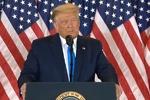 قطع پخش سخنرانی زنده ترامپ، به دلیل ادعای تقلب