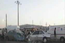 ۵ کشته و مجروح در تصادف دو خودرو در خوشاب