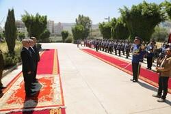 السفیر الایراني یقدم اوراق اعتماده للرئیس المشاط