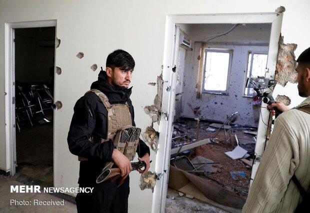 Terrorist attack at Kabul University