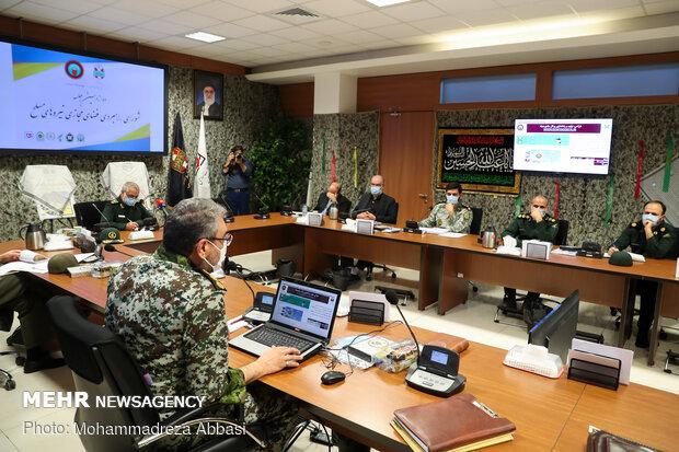 دوازدهمین جلسه شورای راهبردی فضای مجازی نیروهای مسلح