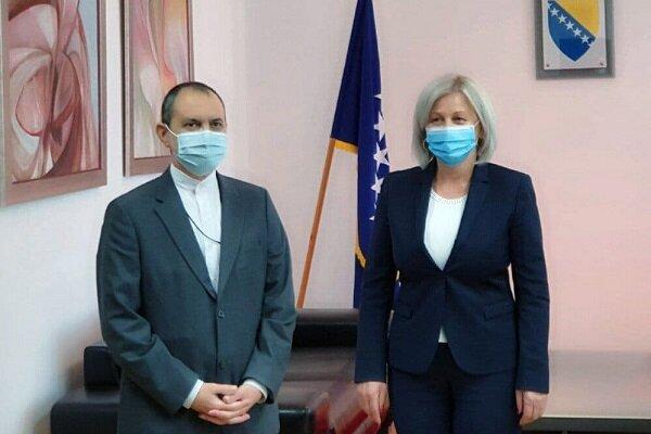 Bosnia & Herzegovina eyes developing parl. ties with Iran