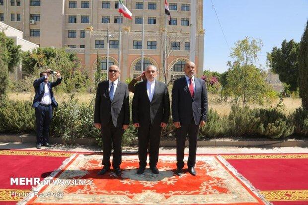 تقدیم اعتبارنامه سفیر ایران در  یمن به رییس شورای عالی سیاسی یمن