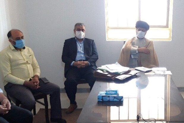 دفتر بنیاد بین المللی غدیر شهرستان گناوه افتتاح شد