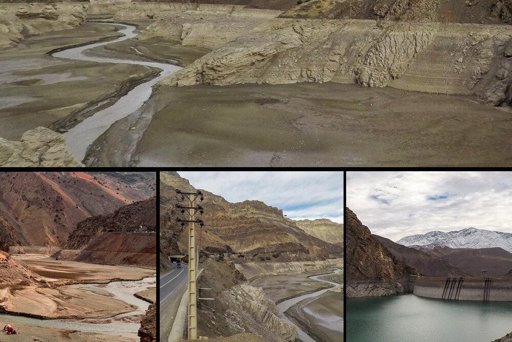 کابوس مرگ در کمین رودخانه کرج/ حیات منطقه البرز جنوبی در خطر است