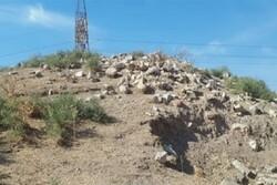 دستگیری عوامل تخریب تپه باستانی «افرینه» پلدختر