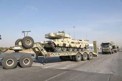 Zırhlı birlikler kuzeybatı sınırına konuşlandı