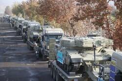 ایران کے شمال مغربی سرحدی علاقوں میں قزوین کی 116 ویں آرمرڈ بریگیڈ روانہ