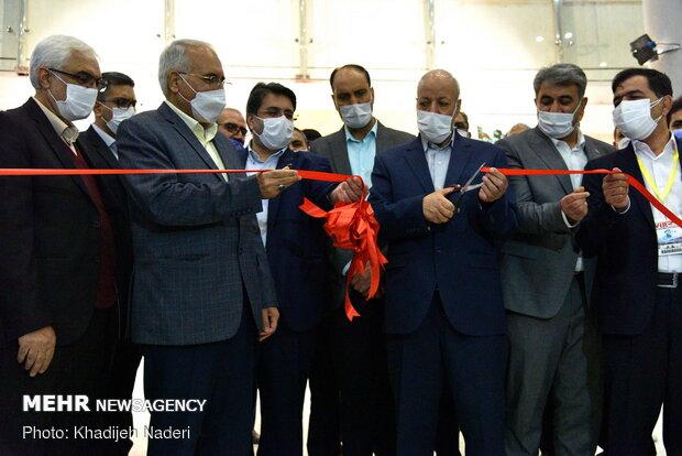 آیین بهره برداری از محل دائمی نمایشگاه بین المللی اصفهان