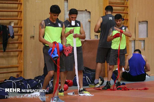 سومین اردوی تیم ملی بوکس در جزیره کیش