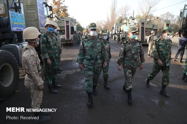 Army's 'armored Brigade 116' dispatched to NW borders