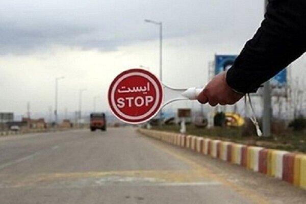 تذکر و اعمال قانون بیش از ۱۳۰۰ خودرو سواری شخصی در کرمانشاه