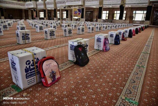 ۲۵۳ هزار بسته لوازم التحریر به دانش آموزان نیازمند اهدا شده است