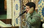 محفل مناجات با نوای میثم مطیعی برگزار می شود