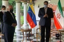 Iranian FM meets with Venezuelan President in Caracas