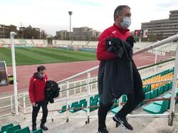 حضور سرمربی تیم ملی فوتبال در بازی پرسپولیس - سایپا