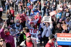 Huge street protests across United States