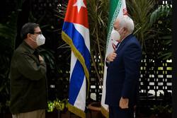 Cuba, Iran FMs discuss boosting bilateral coop. in all fields