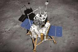 چین از ماه نمونه برداری می کند