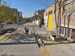 ۱۲۱ کیلومتر از پیادهروهای تهران بهسازی شد