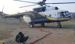 IRGC choppers in operation to help put down fire in N Iran