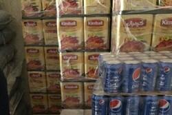 کشف انبار روغن خوراکی و مواد غذایی احتکار شده در مهران