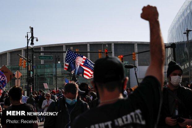 بالا گرفتن اعتراضات سراسری در آمریکا