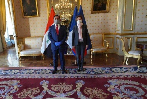 وزير الدفاع العراقي في فرنسا