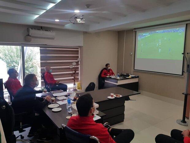 Team Melli tech. staff busy analyzing Bosnia