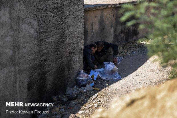اجرای طرح پاکسازی شهر تهران از معتادان متجاهر