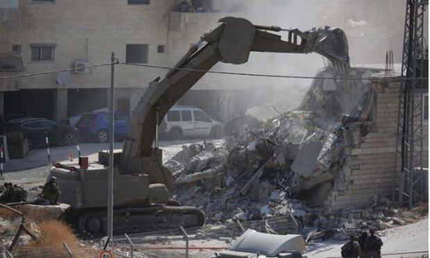 ادانة قيام سلطات الإحتلال بهدم مساكن الفلسطينيين بالأغوار المحتلة