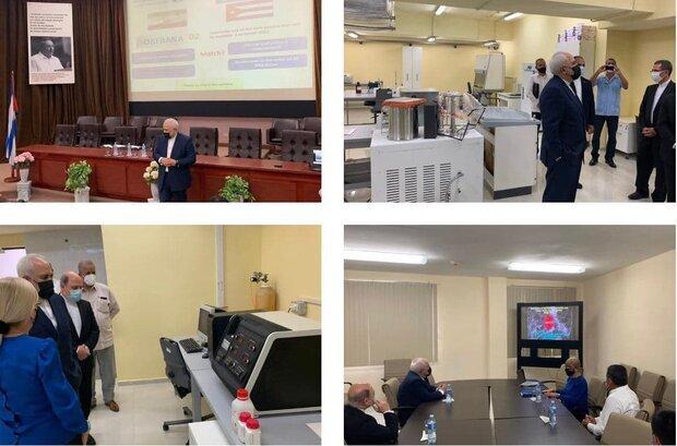 مركزين للابحاث الطبية والدوائية في كوبا تستضيف ظريف