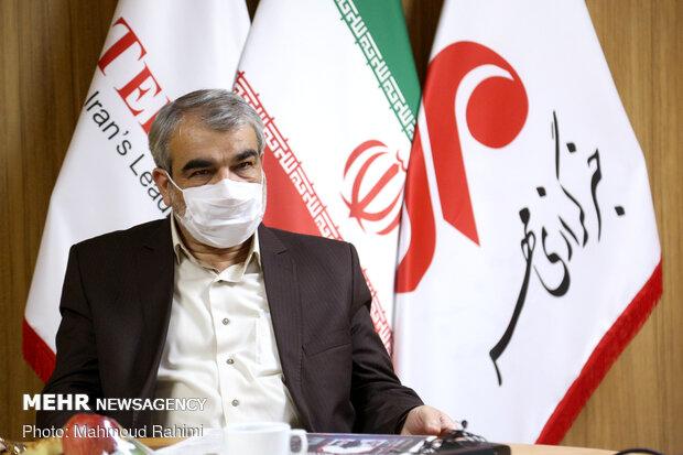 بازدید سخنگوی شورای نگهبان از روزنامه تهران تایمز
