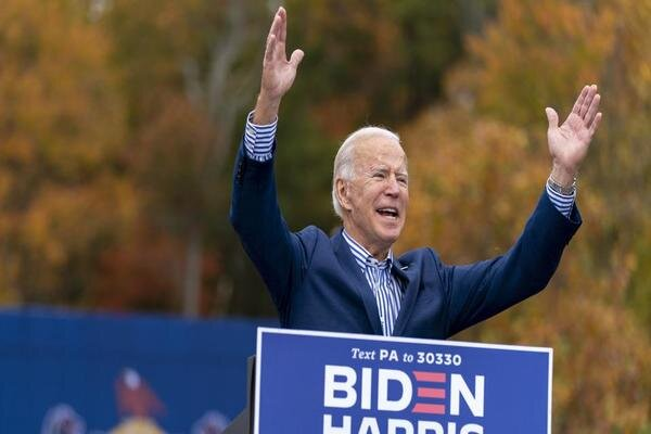 EU leaders congratulate Biden over winning election