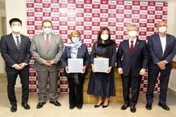 Korean Embassy donates children masks to Iranian MAHAK