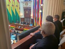 ظریف در مراسم تحلیف رییس جمهور جدید بولیوی حضور یافت