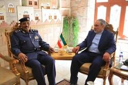 السفير الإيراني لدى اليمن يستقبل عدد من المسؤولين والقيادات اليمنية