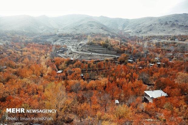 Breathtaking scenery of Autumn in Hamadan
