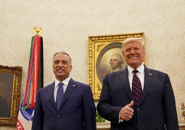"""صور السيد الكاظمي من الخاسر ترامب لم تنفع """"الرجلين"""""""