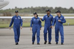 ۴ فضانورد برای سفر به فضا با کپسول اسپیس ایکس آماده می شوند