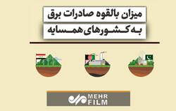 قدرت ایران برای صادرات برق به کشورهای همسایه چقدر است؟