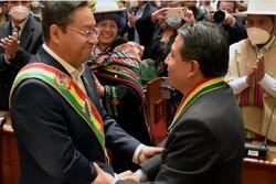 رئیس جمهور جدید بولیوی ادای سوگند کرد