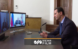 گفتگوی آنلاین بشاراسد با پوتین