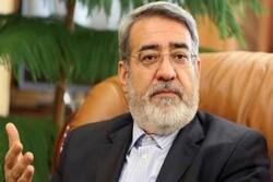 وزير الداخلية الايراني يعلن بدء الفحص العام وزيادة نسبة الاختبارات