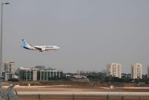 أولى رحلات فلاي دبي الإماراتية تحط في كيان العدو
