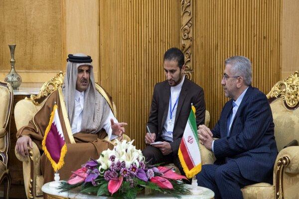 Iran, Qatar stress expansion of regional coop.